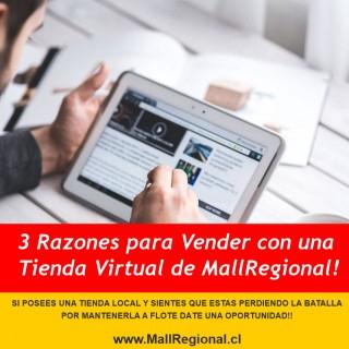 NOTICIA - 3 Razones para Vender con una Tienda Virtual de MallRegional!